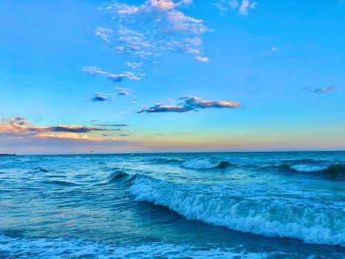 Photos gratuites de aube, ciel bleu, crépuscule