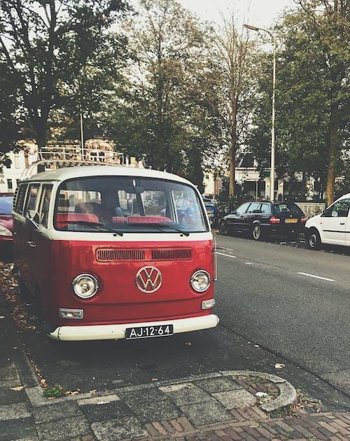 açık hava, ağaçlar, araba, araç kullanmak içeren Ücretsiz stok fotoğraf