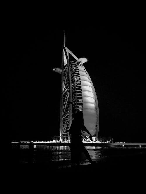 Foto profissional grátis de Burj Al Arab, construção, edifício