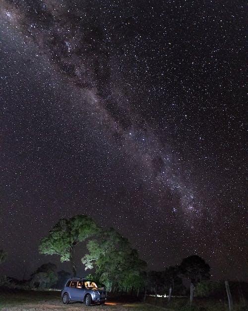 The Milky Way Galaxy at Night