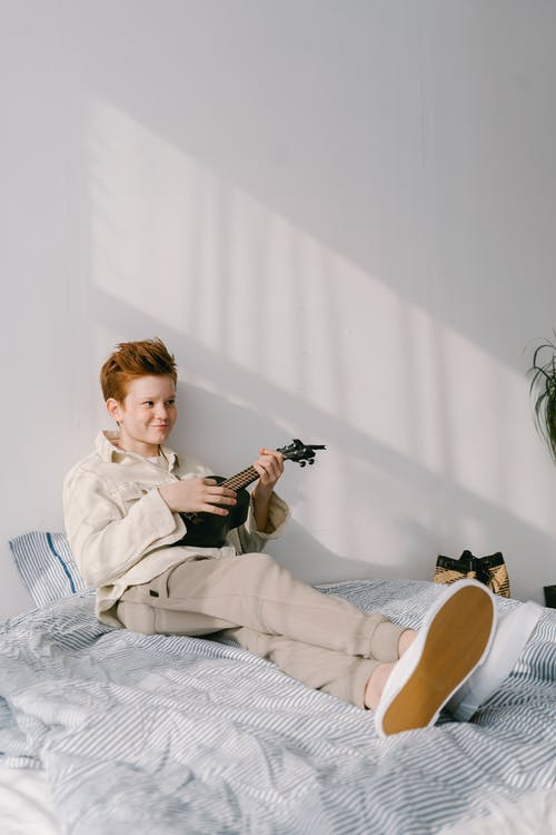 Imagine de stoc gratuită din băiat, în pat, preadolescent