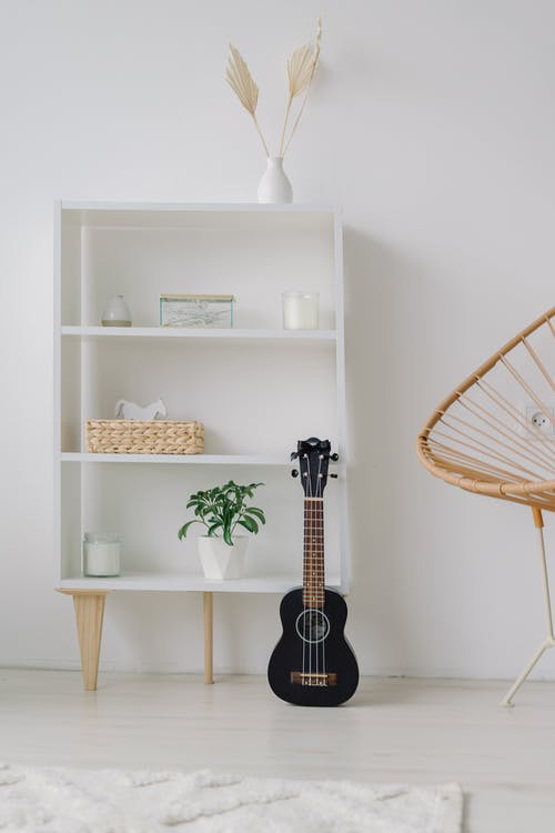 Free stock photo of acoustic, acoustic guitar, apartment