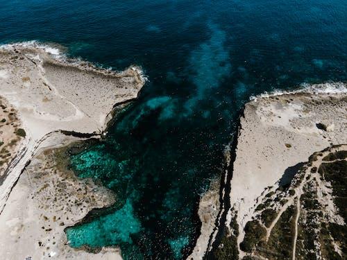 Безкоштовне стокове фото на тему «аерознімок, берег моря, зверху»