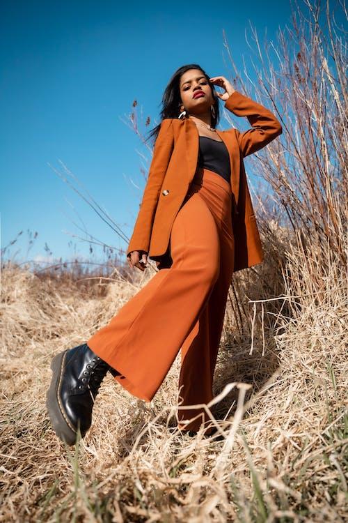 Kostenloses Stock Foto zu afroamerikaner-frau, farbige frau, fashion