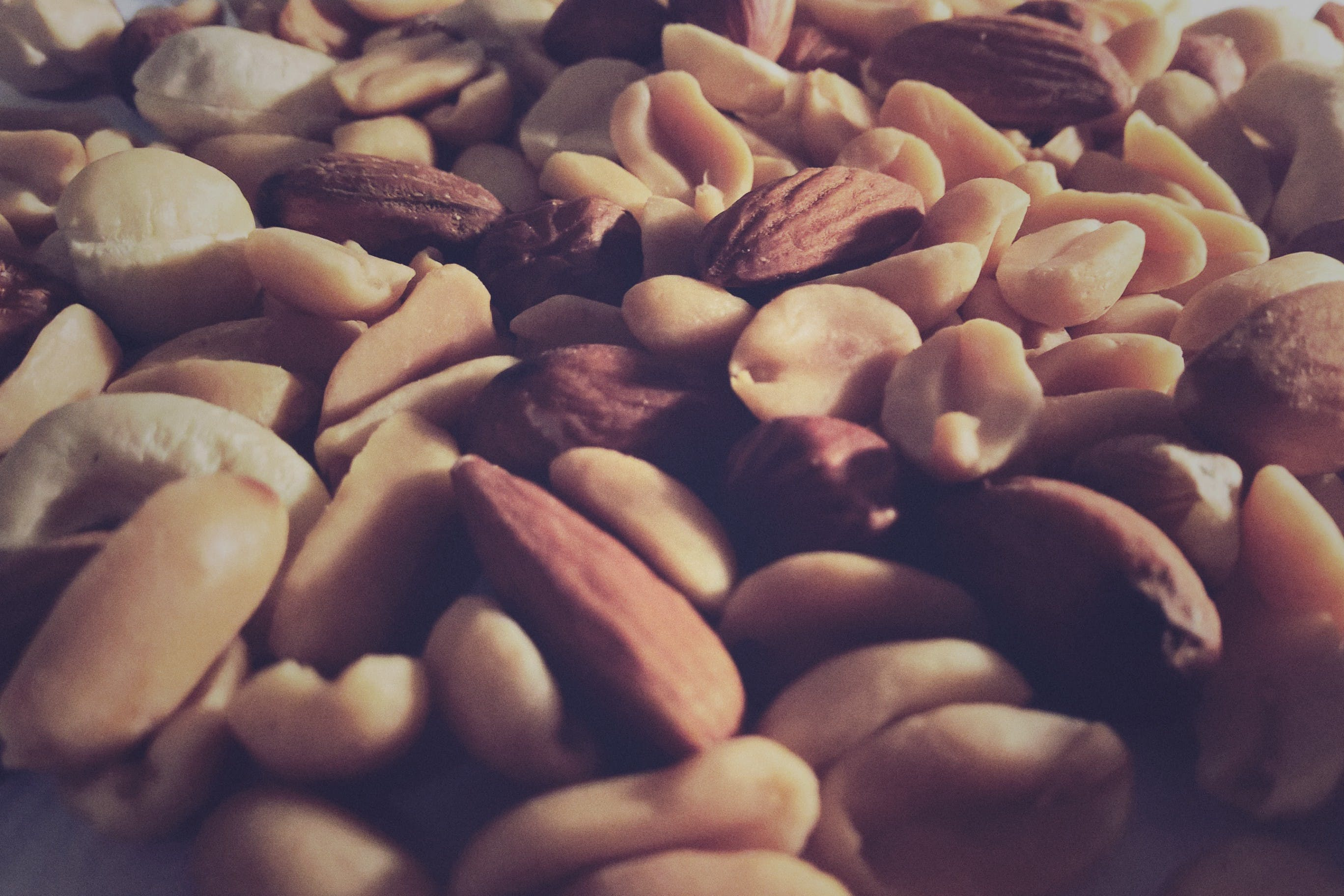 almonds, assorted, batch