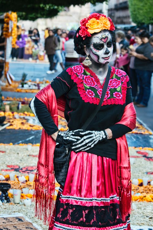 Gratis stockfoto met catrina, ceremonie, cinco de mayo, close-up