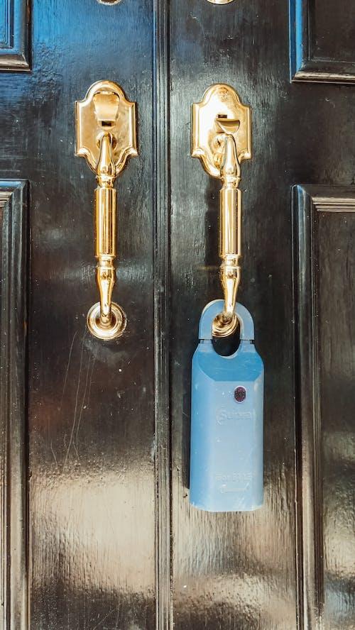 Lock Box Hanging on a Doorknob