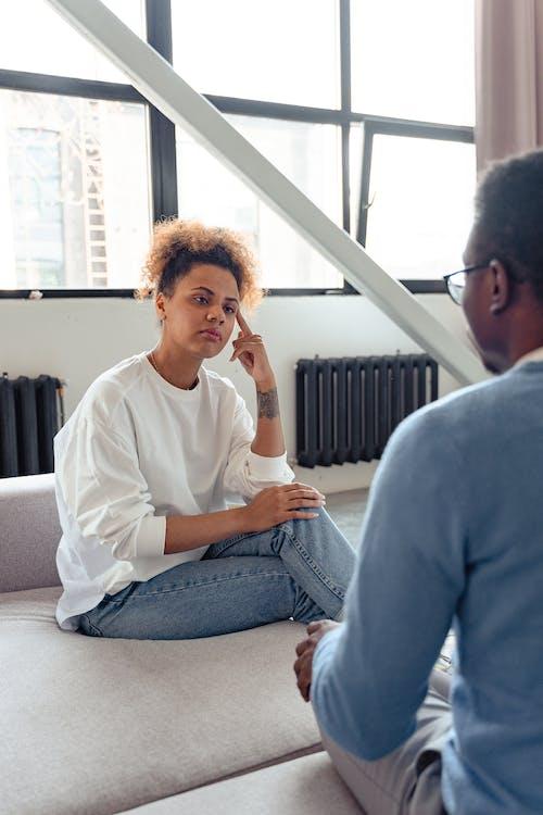 A Woman Listening