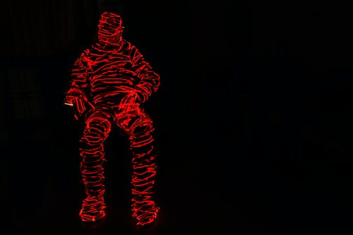 トーチ, ライトペインティング, 長時間露光の無料の写真素材