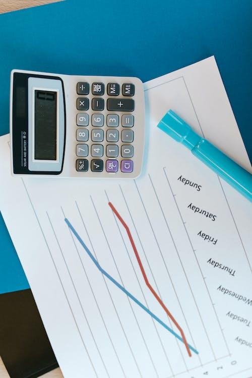 Kostenloses Stock Foto zu bericht, diagramm, graph