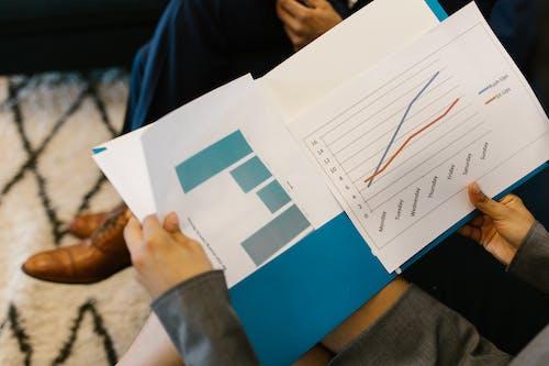 Kostnadsfri bild av analys, diagram, grafer
