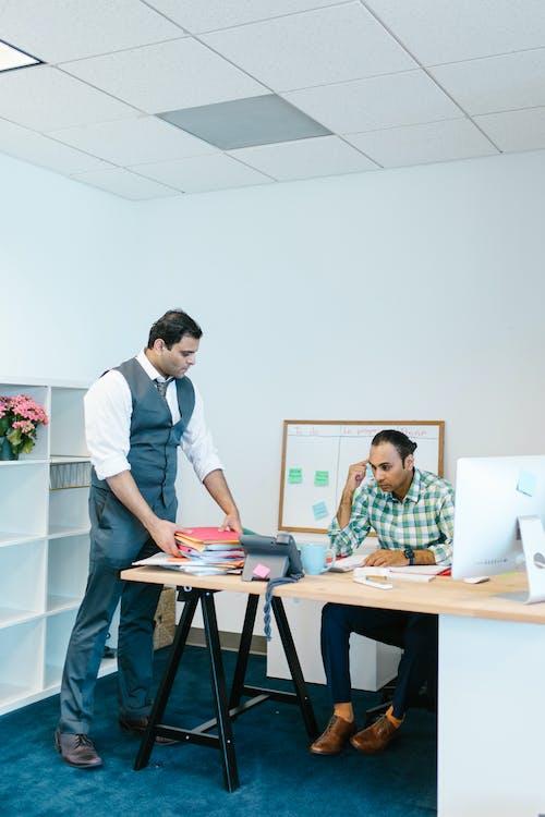 Men Inside an Office