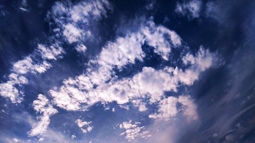 Darmowe zdjęcie z galerii z atmosfera, biały, błękitne niebo, chmury