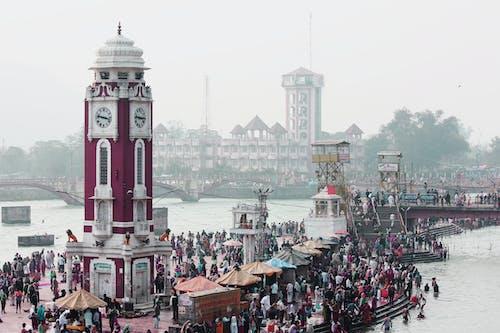Free stock photo of Ganga, Haridwar, india, temple