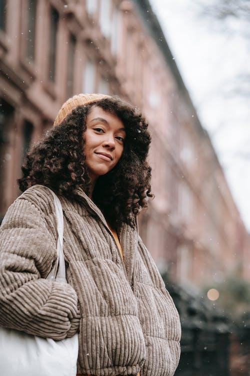 アフリカ系アメリカ人女性, アフロ, エコの無料の写真素材