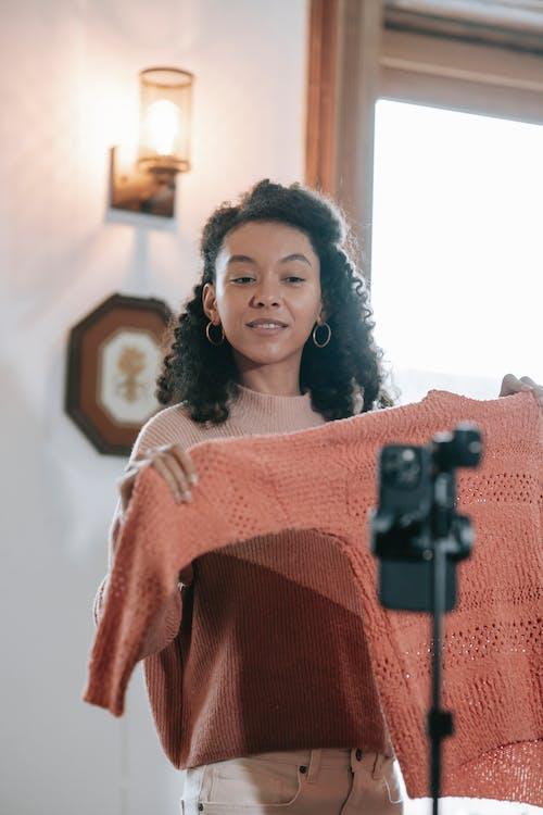 Ingyenes stockfotó afro-amerikai nő, anyag, bakelit témában