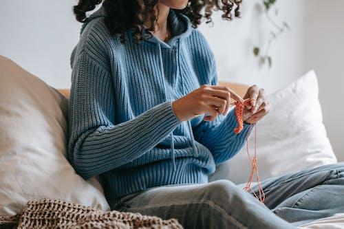 あたたかい, ウール, かぎ針編みの無料の写真素材
