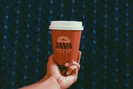 Close-UP Photography of Paper Coffee Cup