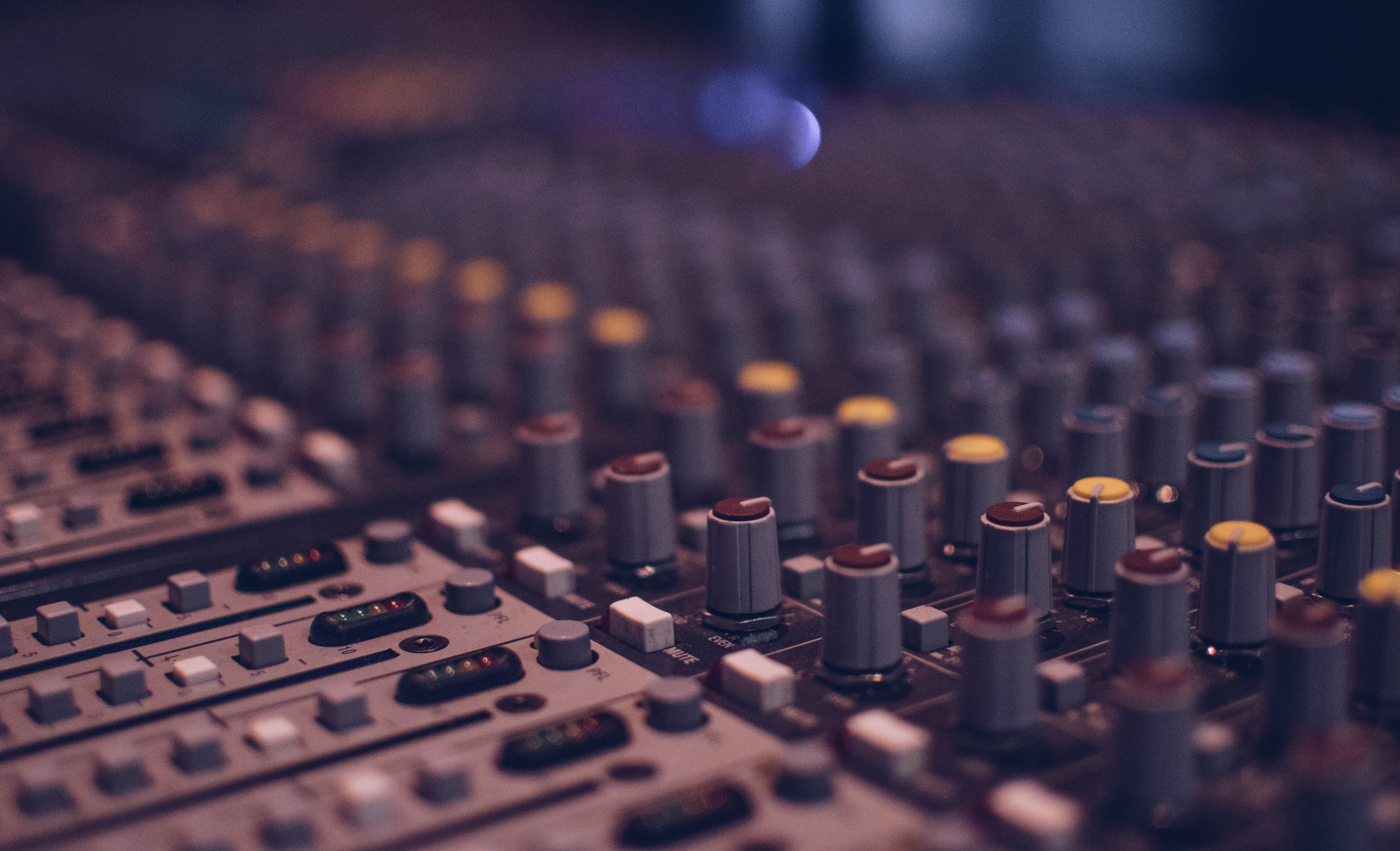 Free stock photo of audio, audio mixer, bokeh, celebrity