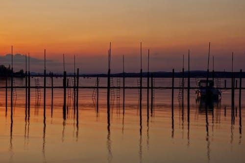 H2O, シルエット, ビーチの無料の写真素材