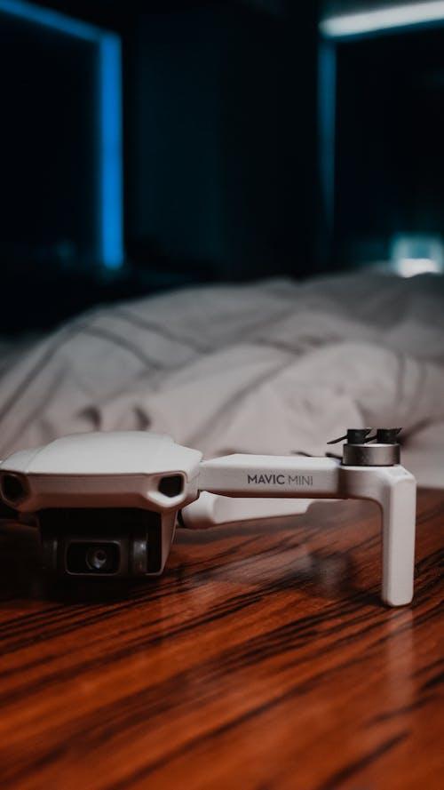Photos gratuites de bleu, caméra drone, dji