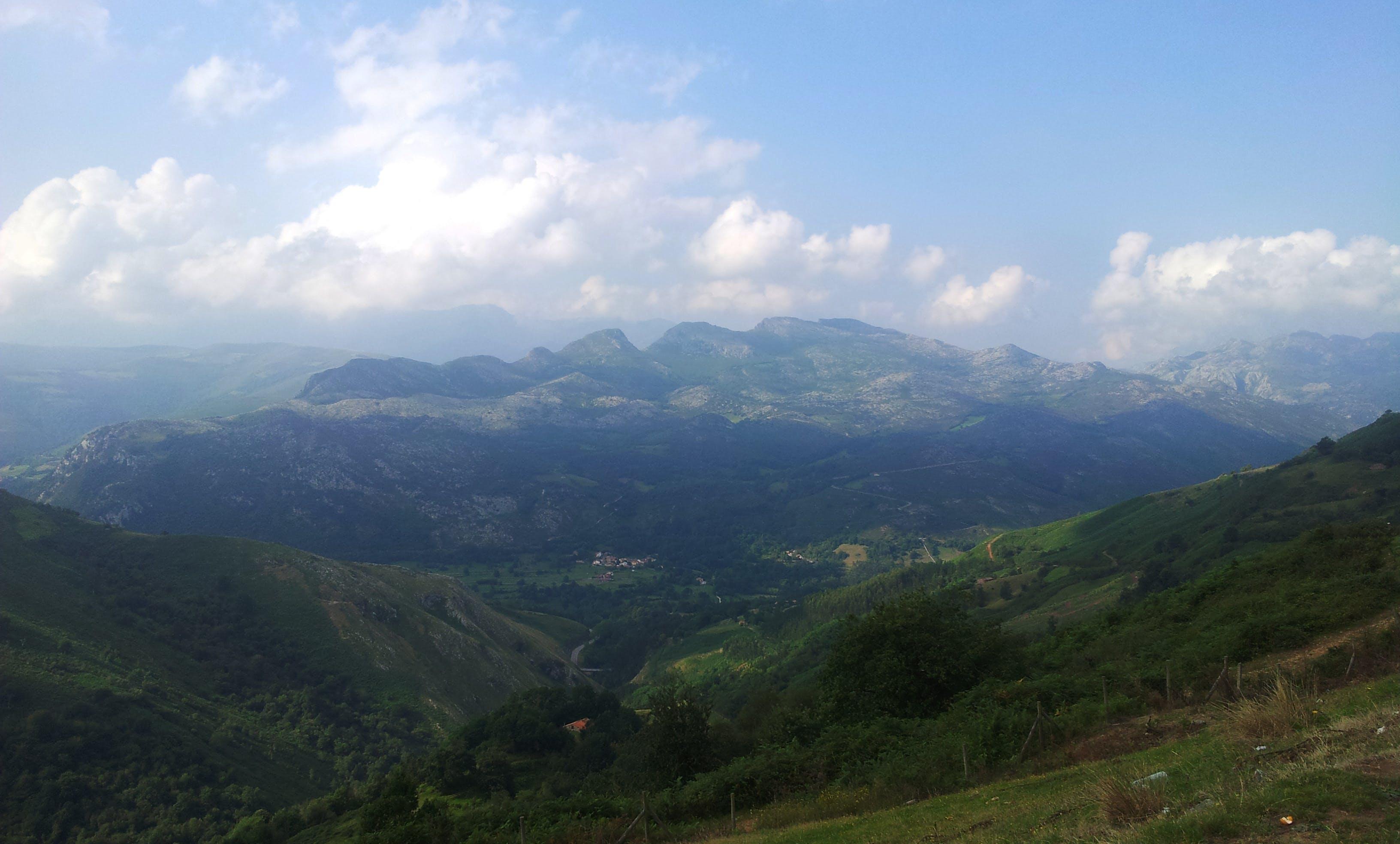 Free stock photo of cantabria, landscape, mountain, sky
