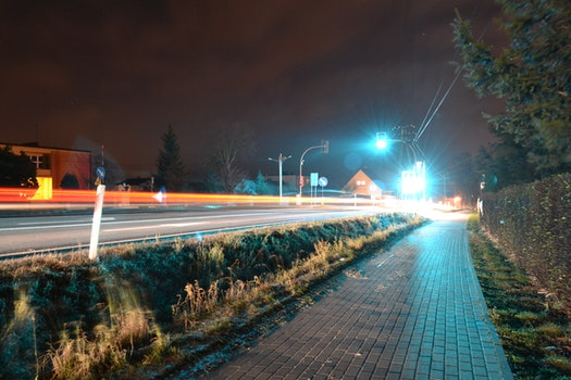 Long Exposure of Cars