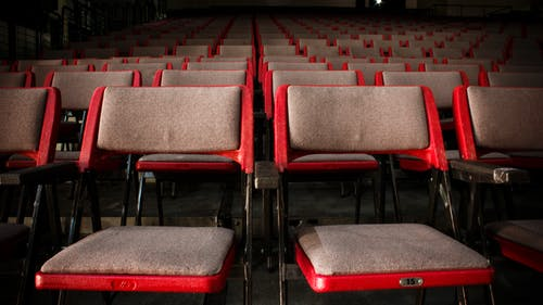 Empty Theater Seats