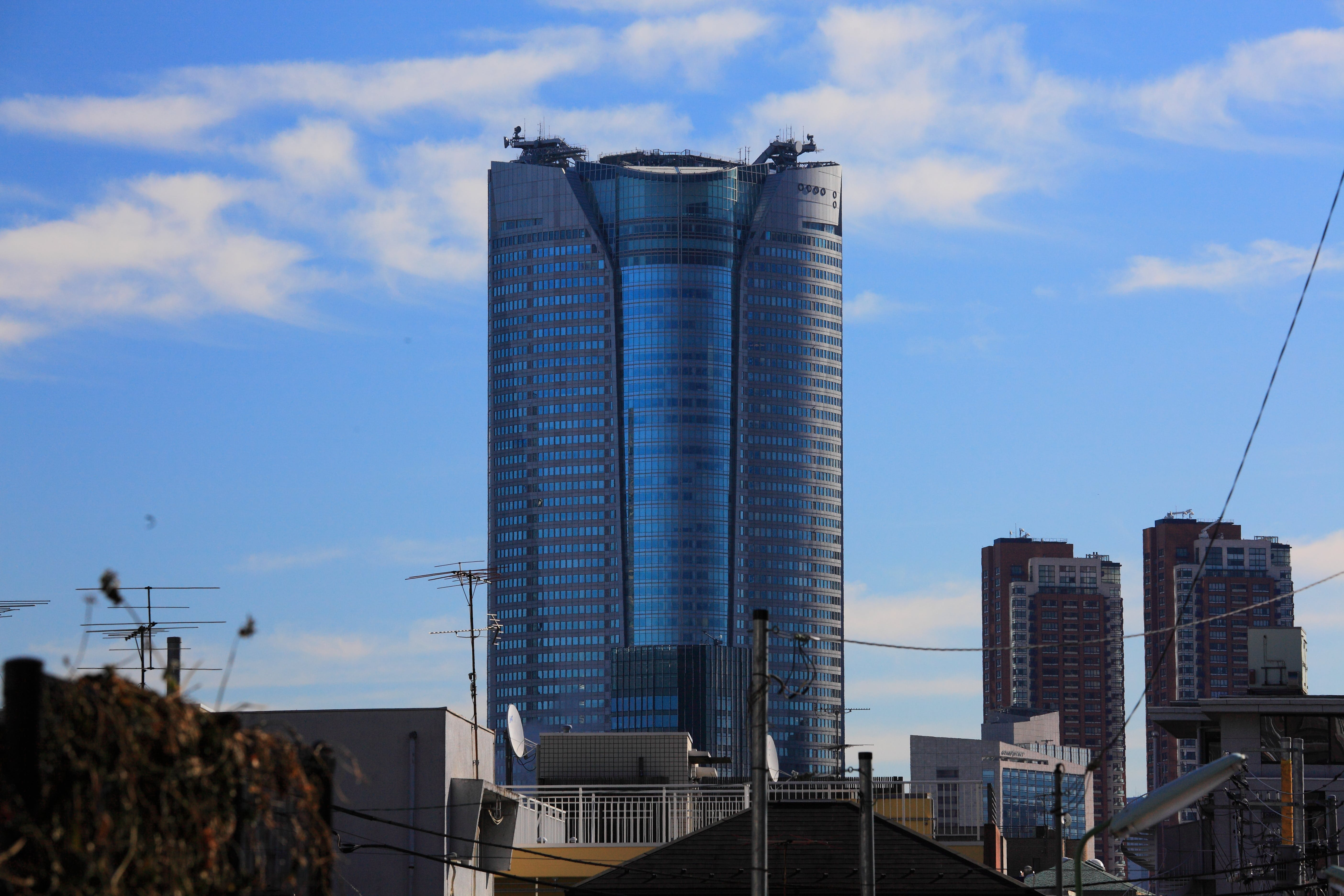 Free stock photo of sky, blue, building, glass