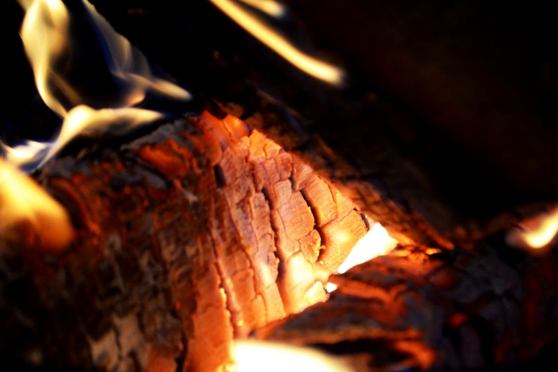 กองไฟ, การเผาไหม้, ความร้อน