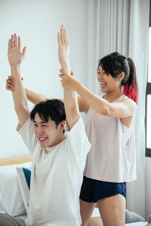 exercice, 亞洲夫婦, 人 的 免費圖庫相片
