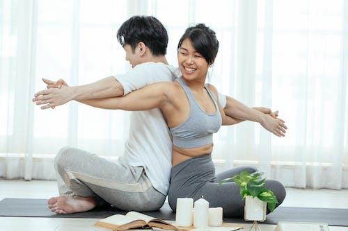 Δωρεάν στοκ φωτογραφιών με acro yoga, activewearwear, asana