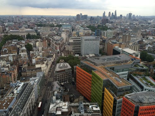 Free stock photo of also London City buildings, Google building at St Giles