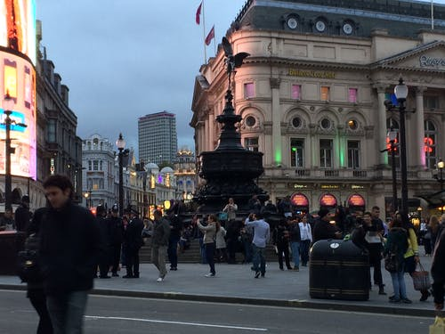 Free stock photo of piccadilly circus