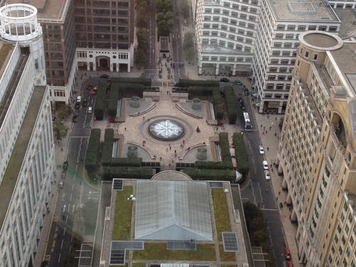 Free stock photo of Cabot Square Canary Wharf