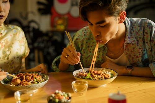 Fotos de stock gratuitas de adulto, almuerzo, asiático