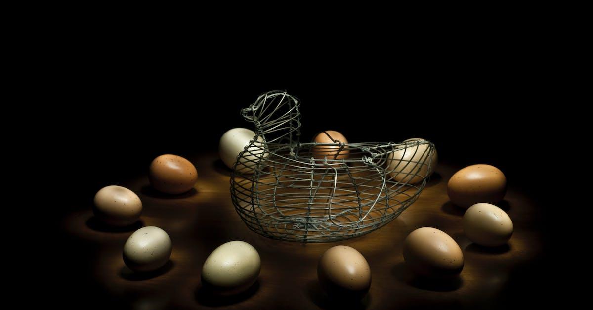 Kostenloses Foto zum Thema: draht, eier, hähnchen