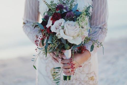 Immagine gratuita di amore, bellissimo, bouquet, bouquet da sposa