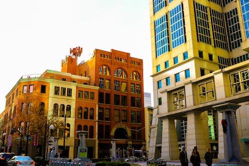 Foto stok gratis , arsitek, bangunan, bersemangat