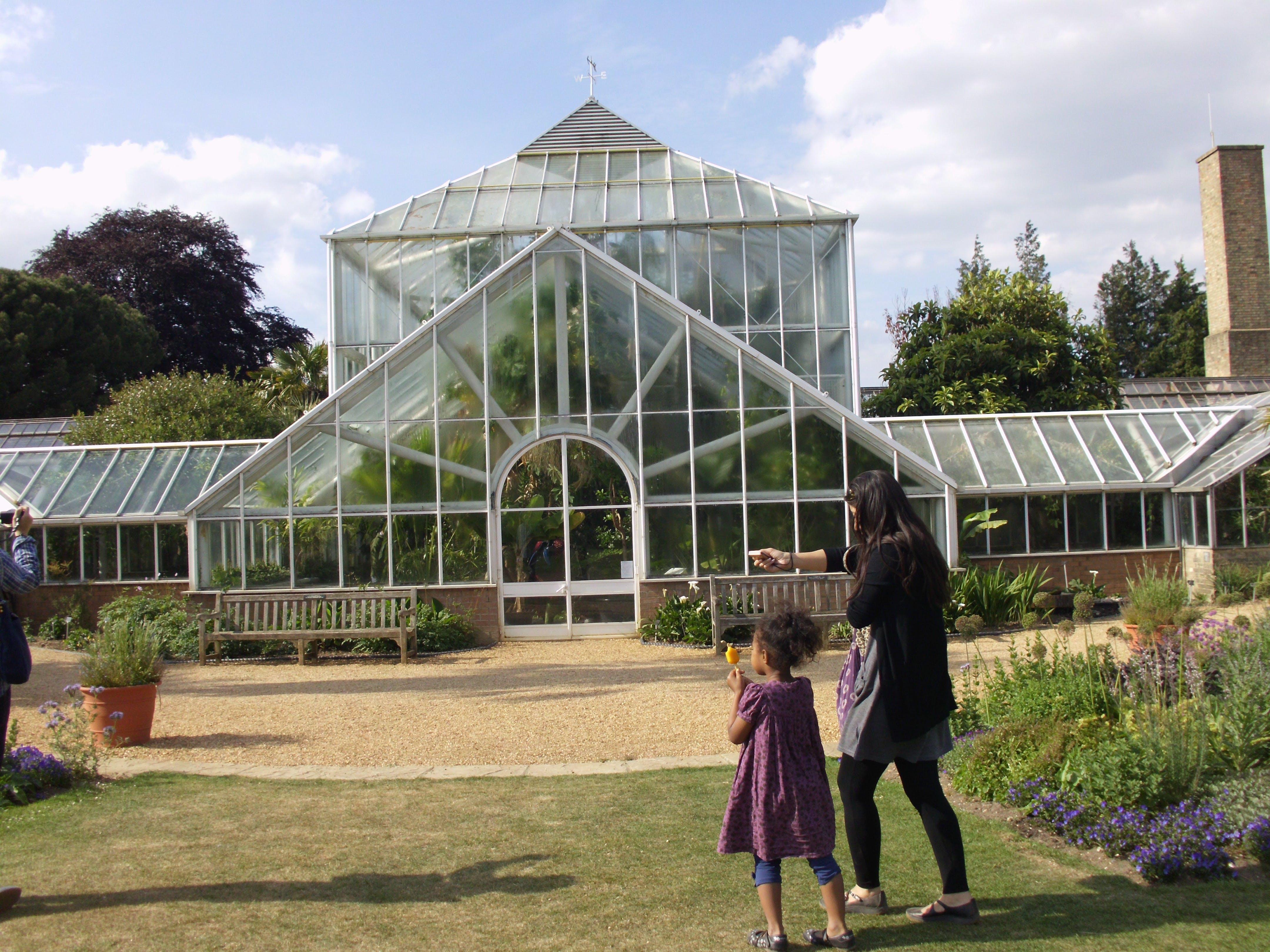 Free stock photo of Green House at Cambridge University Botanic Garden