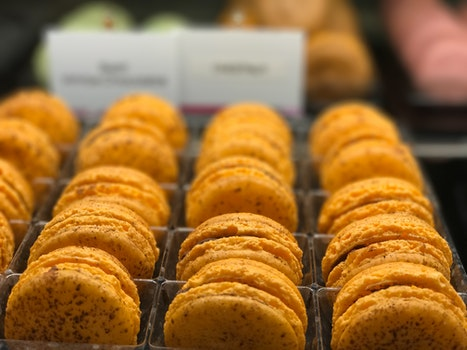 Selective Focus Photography of Baked Macaroons