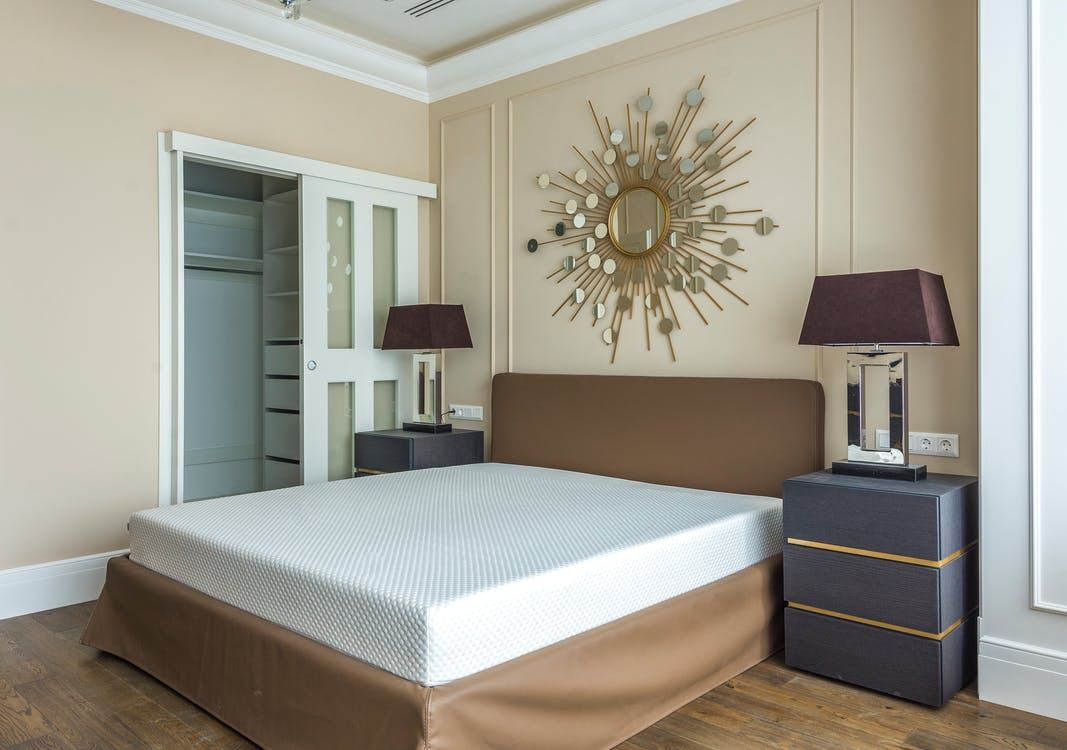 Contemporary Comfortable Bedroom