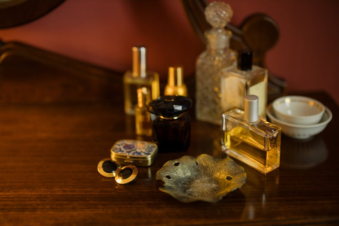 Perfumes on the Table