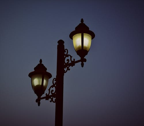 Foto profissional grátis de abajur, eletricidade, escuro, fotografia