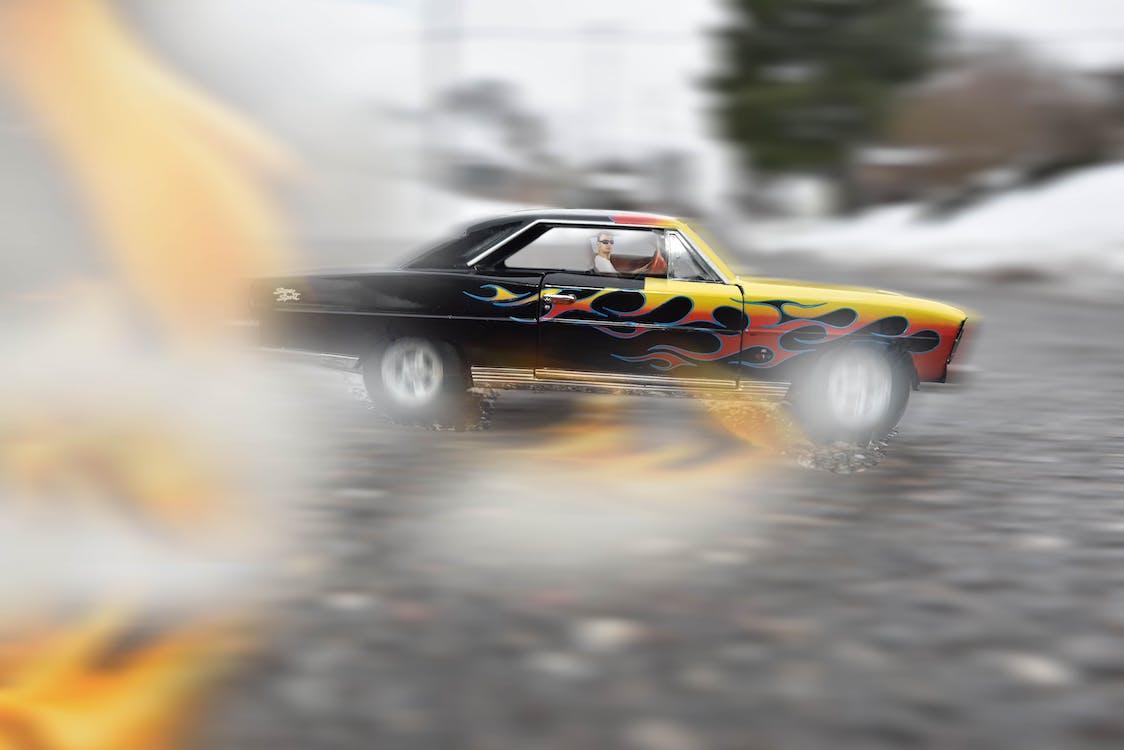 action, asphalte, auto