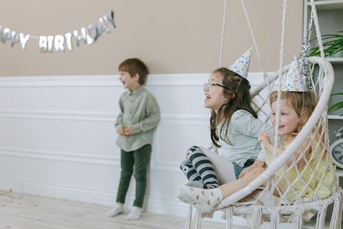 Children Enjoying Birthday Party