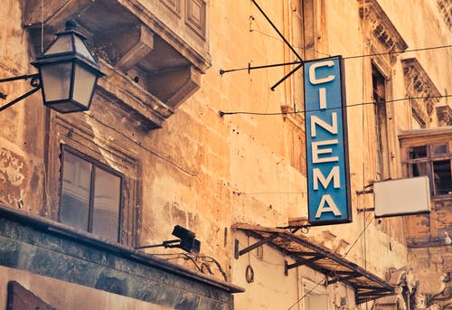 Free stock photo of advertising, cartel, cinema, city