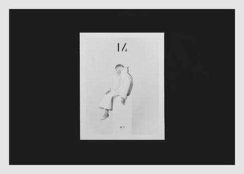 Free stock photo of gift, magazine, minimalism, black and-white