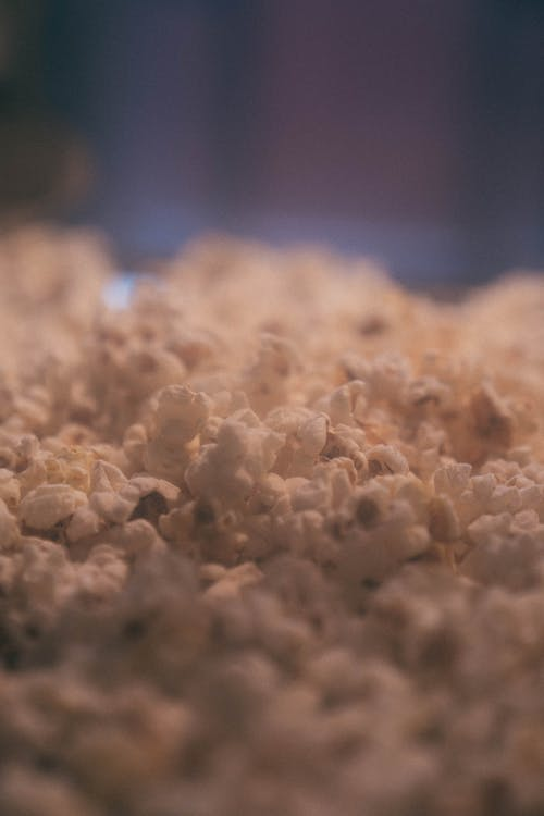 Selective Focus Photo of Popcorn