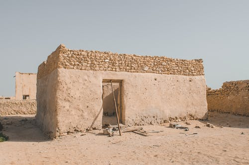 Free stock photo of abandoned, adobe, ancient